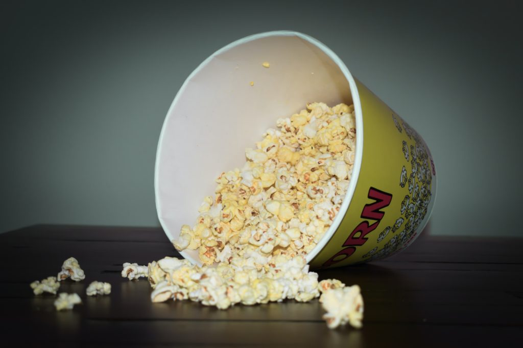 Popcorn et films